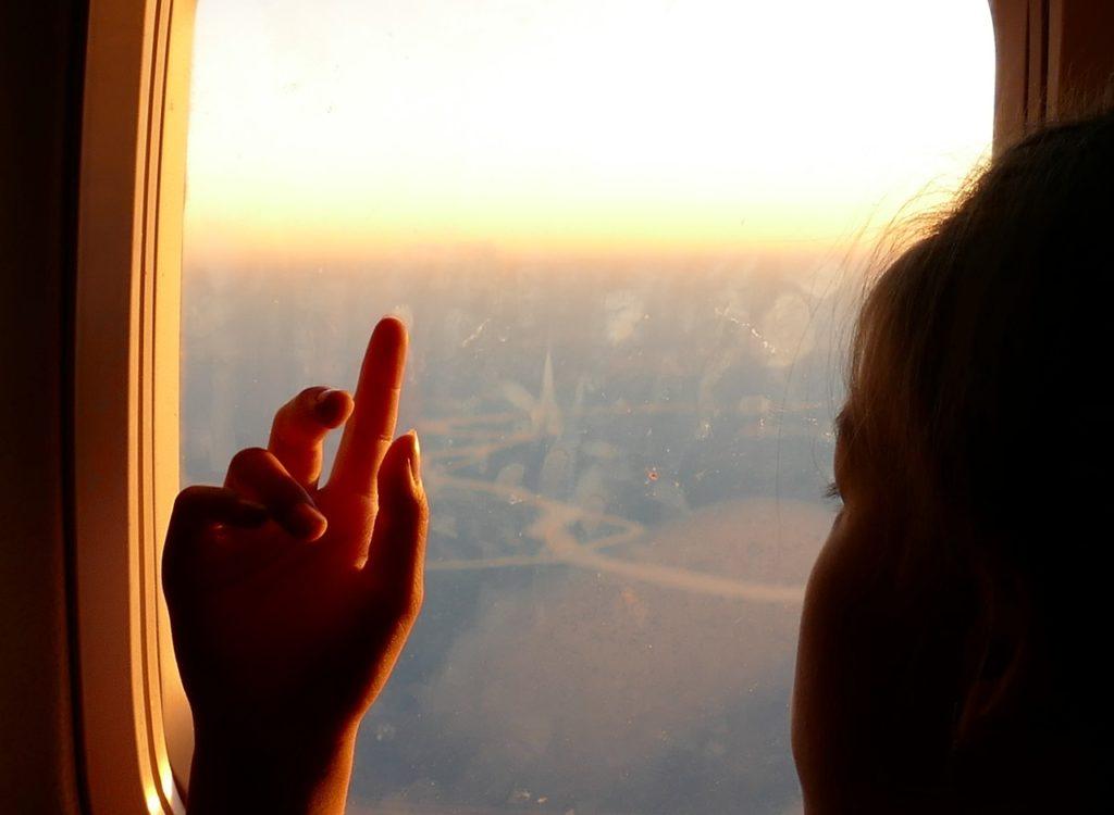 飛行機 子供