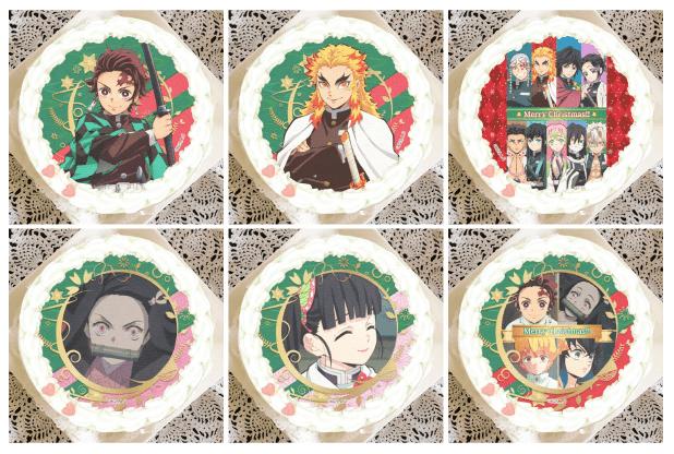 鬼滅の刃クリスマスケーキ2020